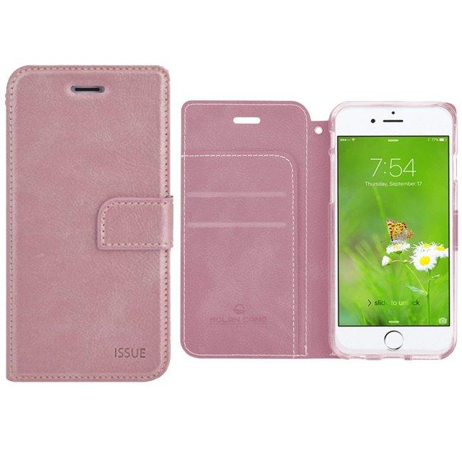 Pouzdro Molano Cano Issue Book pro Xiaomi Pocophone F1, Rose Gold