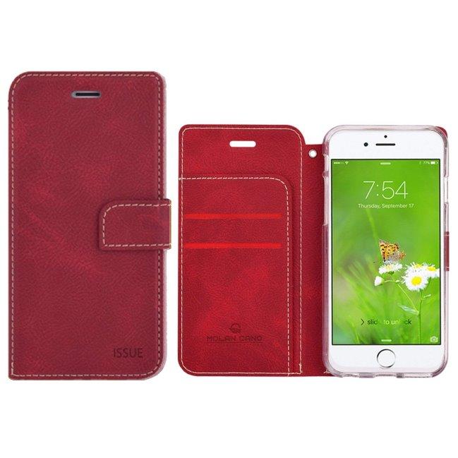 Pouzdro Molano Cano Issue Book pro Xiaomi Redmi 9, Red