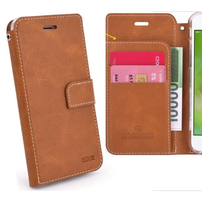 Pouzdro Molano Cano Issue Book pro Xiaomi Redmi Note 8 Pro, Brown