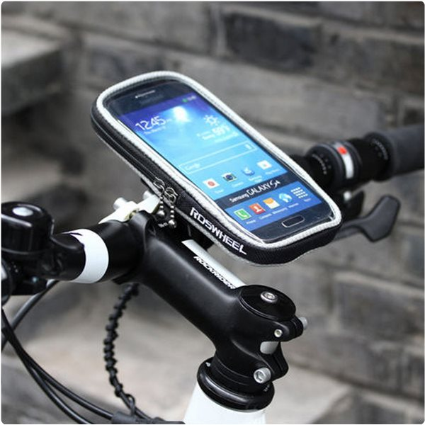 Puzdro na bicykel RosWheel pre Apple iPhone 4, Apple iPhone 4S