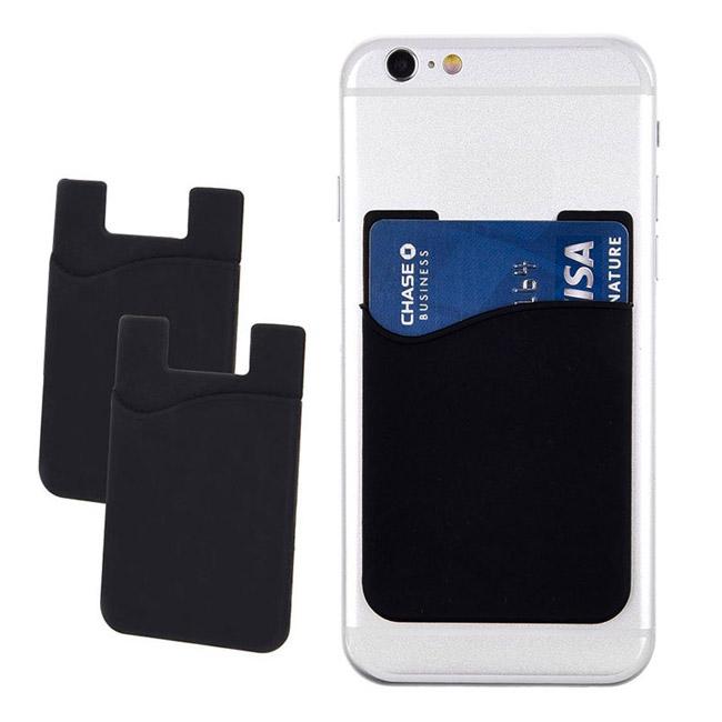 Pouzdro na karty/bankovky pro mobilní telefon, černé