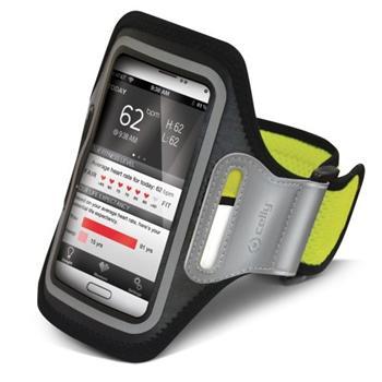Puzdro na rameno Celly pre Motorola Moto G LTE 2014 2gen - XT1072, Yellow