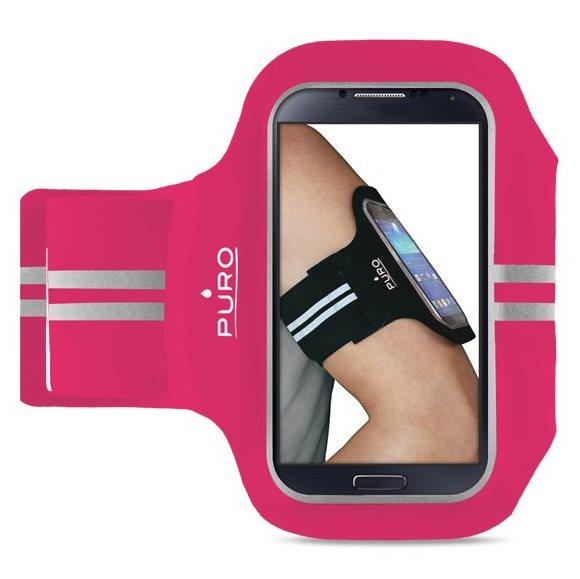 Puzdro na rameno PURO pre GoClever Quantum 450 Lite, Pink