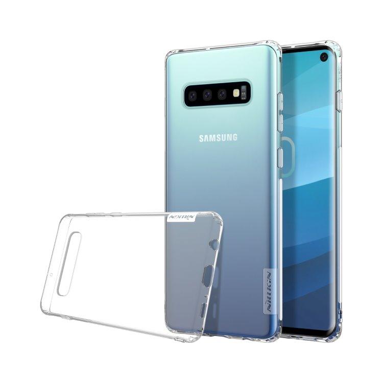 Pouzdro Nillkin Nature TPU pro Samsung Galaxy S10-G973F, Transparent