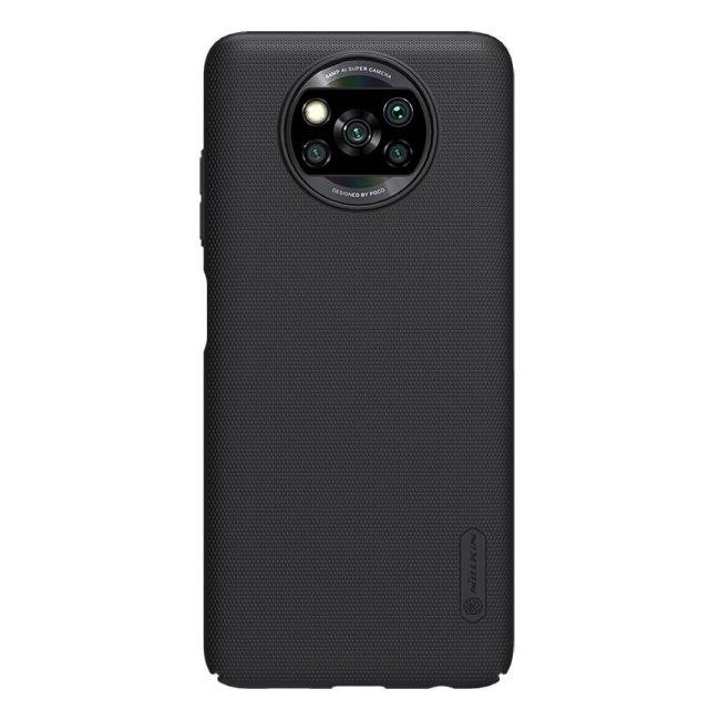 Pouzdro Nillkin Super Frosted pro Xiaomi Poco X3 (NFC), černé