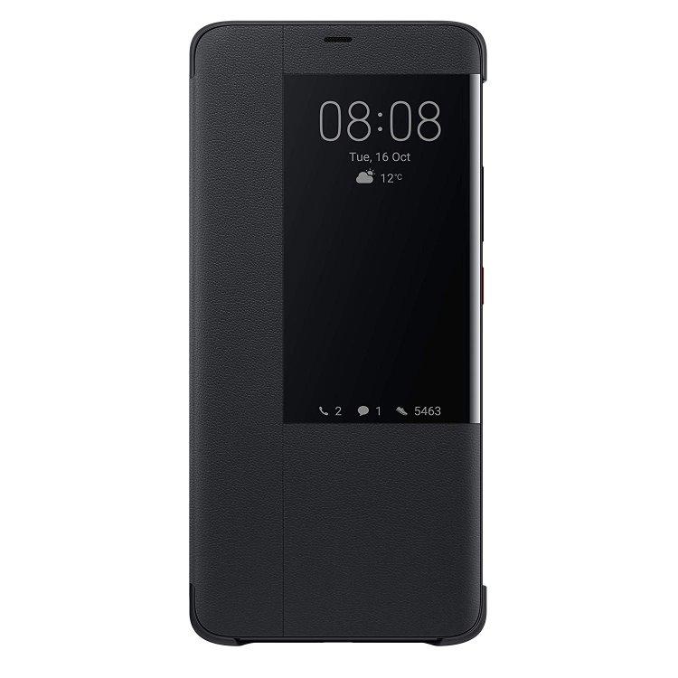 Pouzdro originální Flip Cover pro Huawei Mate 20 Pro, Black