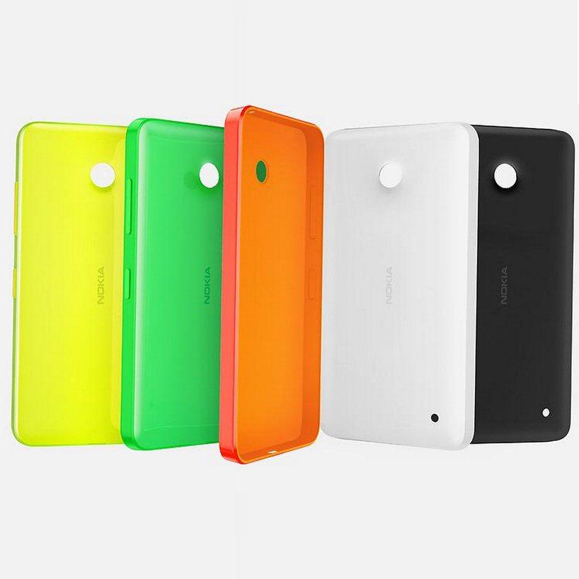 Pouzdro originální Nokia CC-3084 pro Nokia Lumia 530, Orange