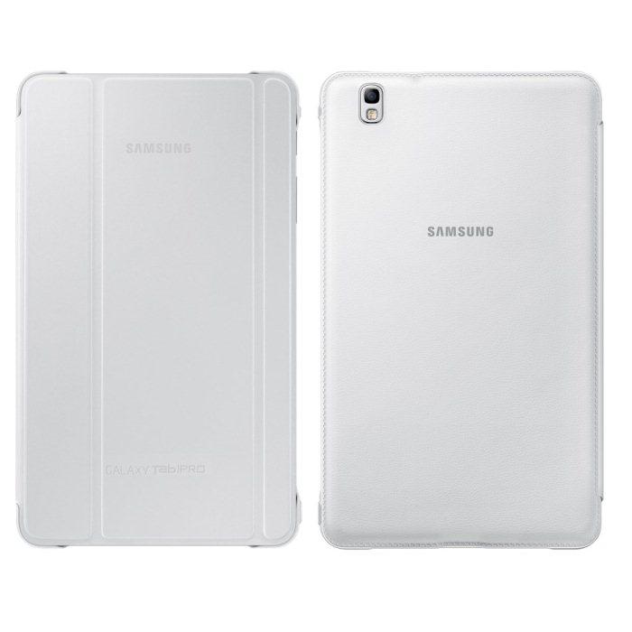 Pouzdro originální polohovací pro Samsung Galaxy Tab Pro 8.4-T320 a T325, White