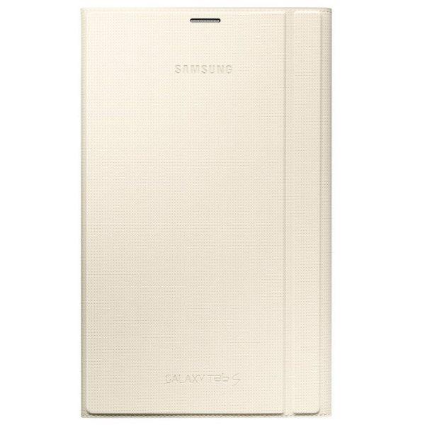Pouzdro originální polohovací pro Samsung Galaxy Tab S 8.4 - T700 / T705, Ivory
