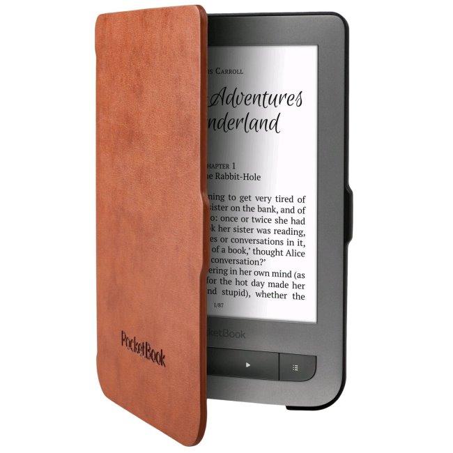 Pouzdro originální pro Pocketbook 614/615/623/624/625/626/641, Black/Brown