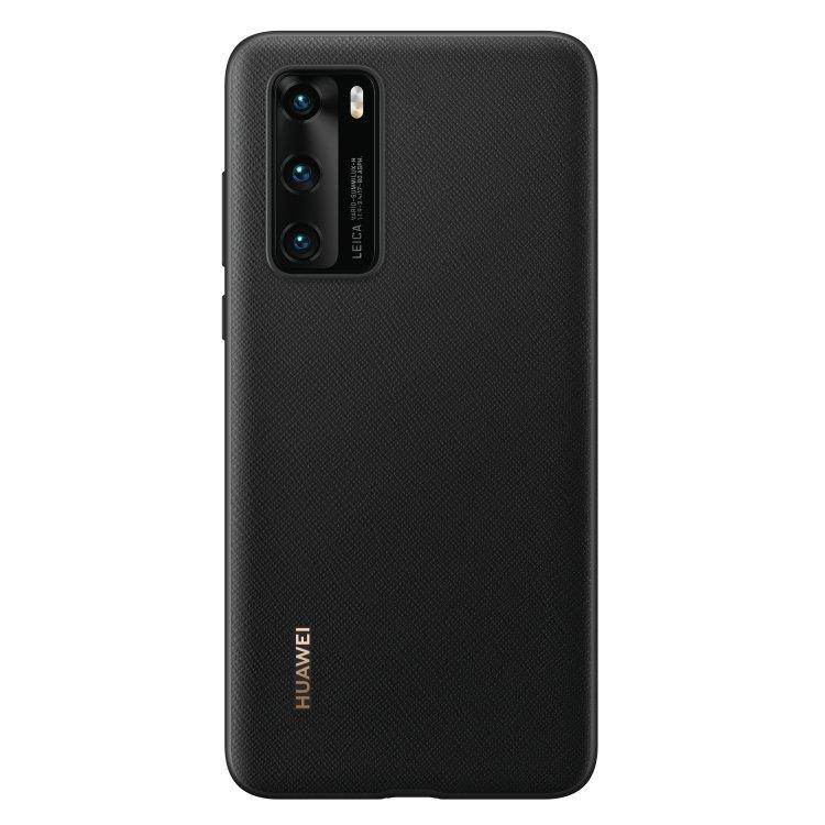 Pouzdro originální Protective Cover pro Huawei P40, Black
