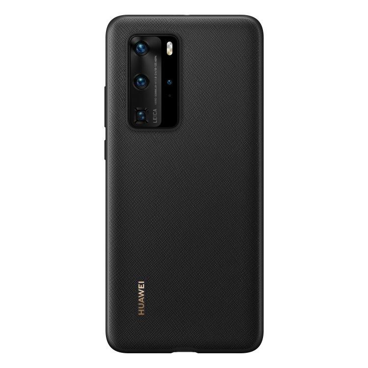 Pouzdro originální Protective Cover pro Huawei P40 Pro, Black