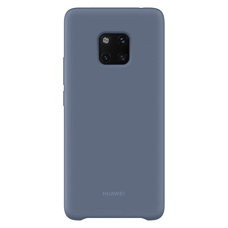 Pouzdro originální Silicone Case pro Huawei Mate 20 Pro, Blue
