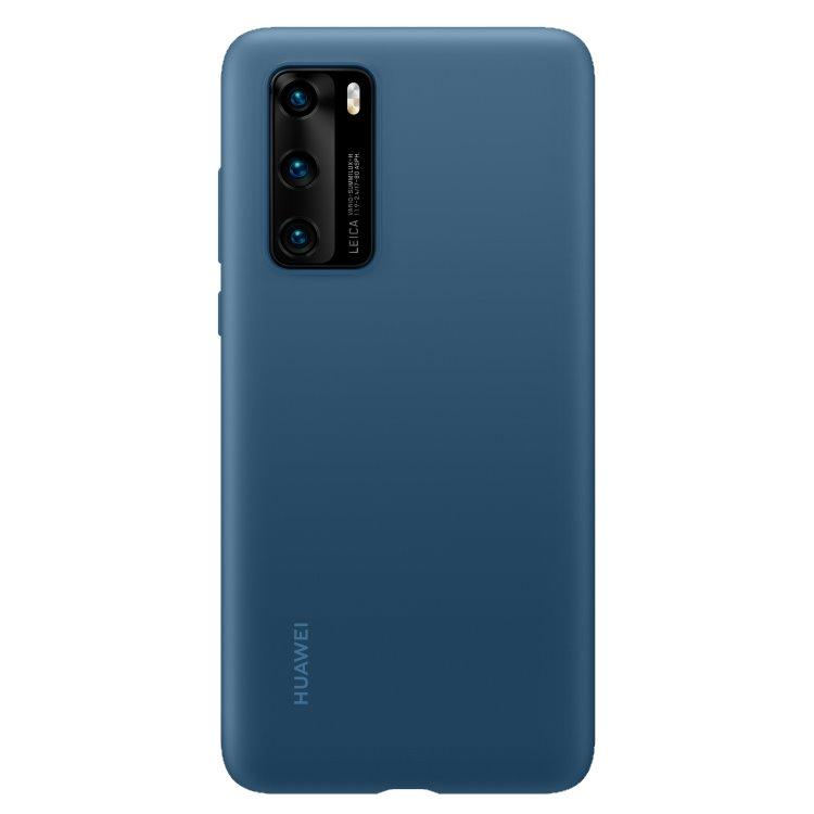 Pouzdro originální Silicone Case pro Huawei P40, Blue