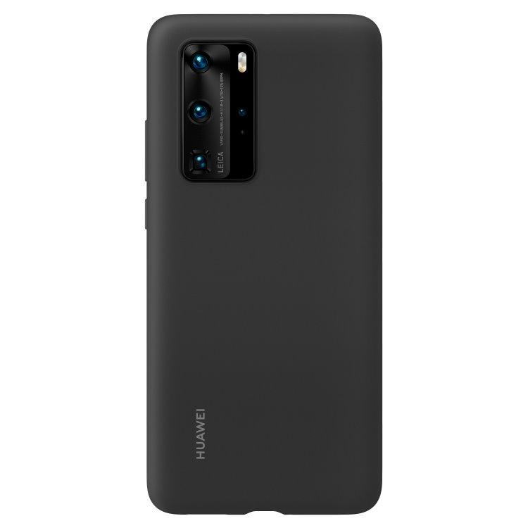 Pouzdro originální Silicone Case pro Huawei P40 Pro, Black