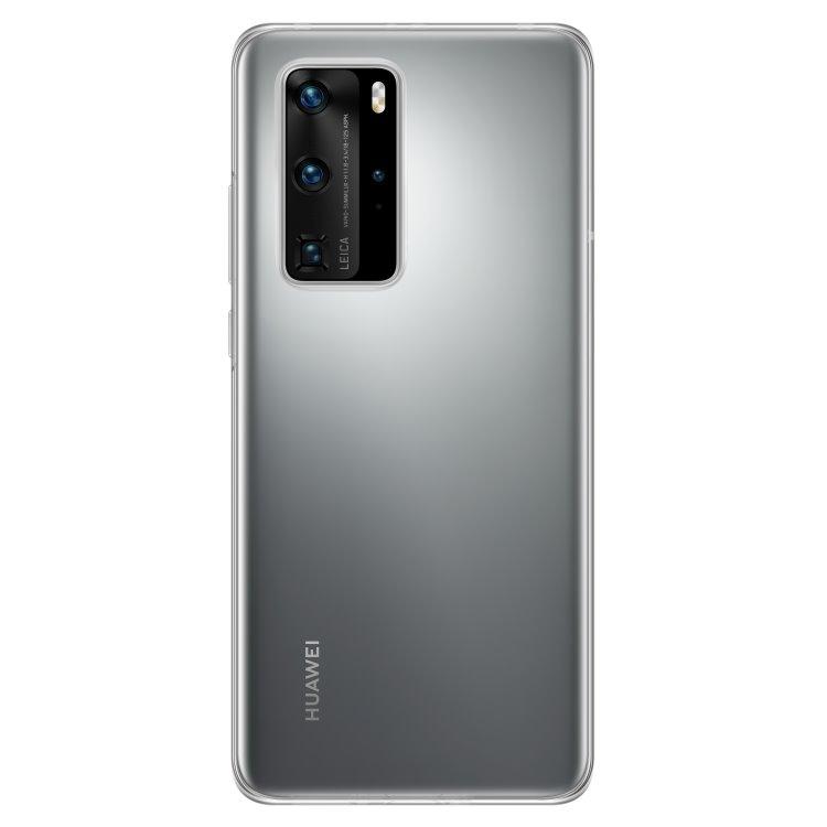 Pouzdro originální Silicone Case pro Huawei P40 Pro, Transparent