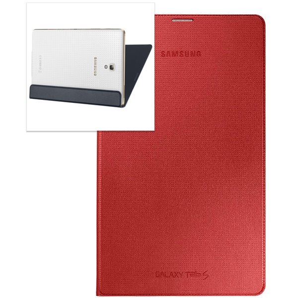 Pouzdro originální Simple Cover EF-DT700B pro Samsung Galaxy Tab S 8.4 - T700 / T705, Red