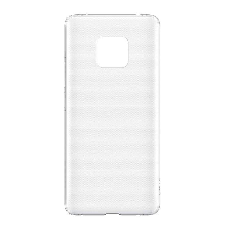 Pouzdro originální TPU Cover pro Huawei Mate 20 Pro, Clear