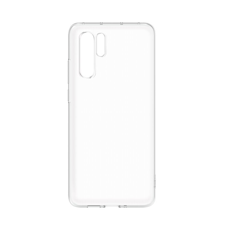 Pouzdro originální TPU Cover pro Huawei P30 Pro, Transparent