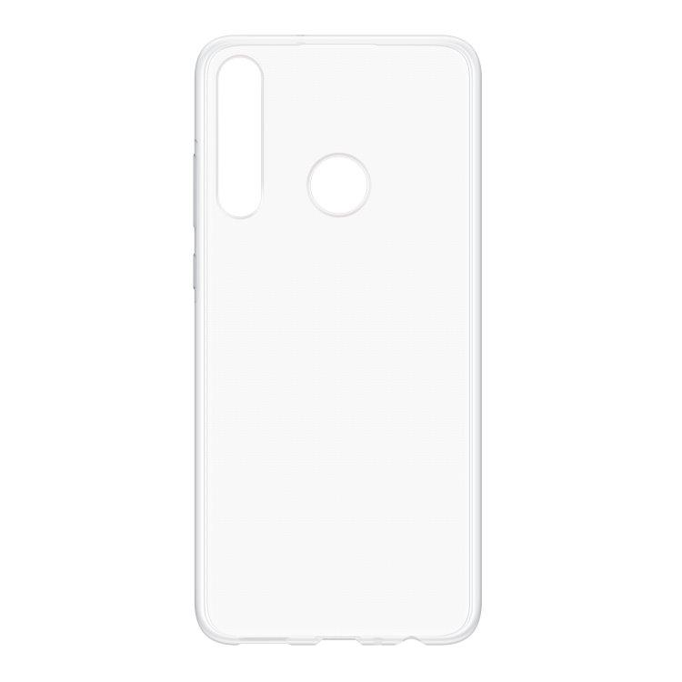 Pouzdro originální TPU Cover pro Huawei P40 Lite E, Transparent