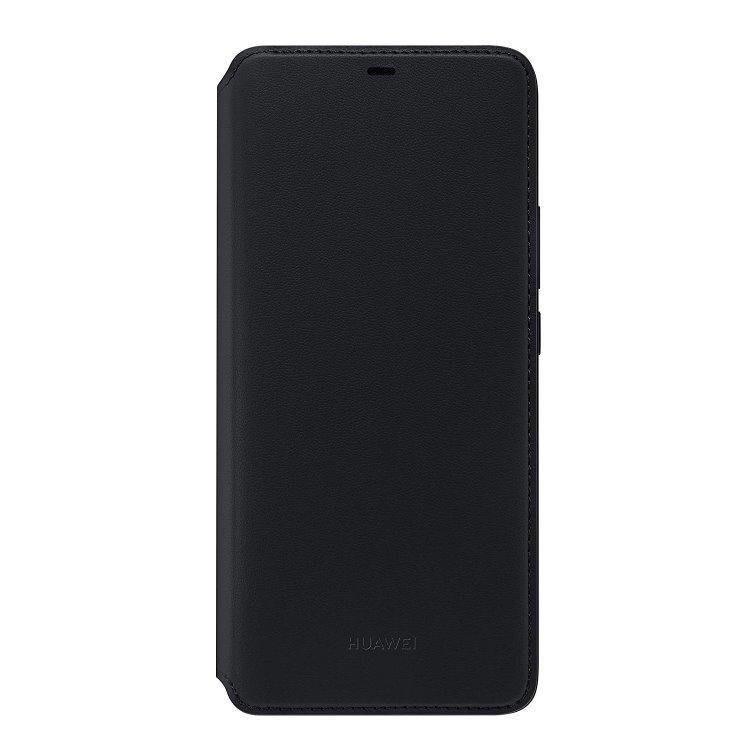 Pouzdro originální Wallet pro Huawei Mate 20 Pro, Black