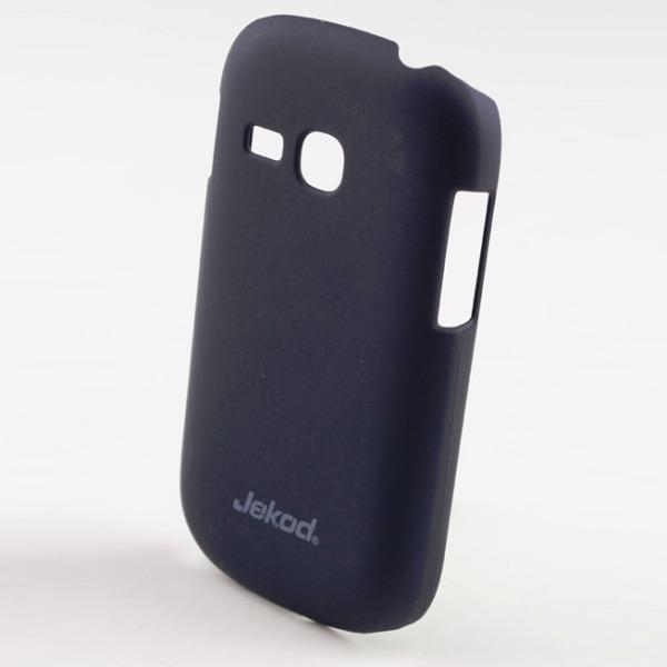 Pouzdro plastové Jekod Super Cool Samsung Galaxy Fame-S6810, Black Ochranná fólie na displej