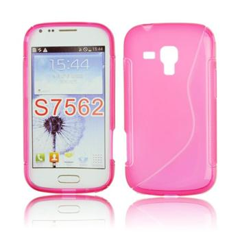 Pouzdro S-TYPE pro Samsung Galaxy S Duos 2-S7582, Pink