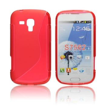 Pouzdro S-TYPE pro Samsung Galaxy S Duos 2-S7582, Red