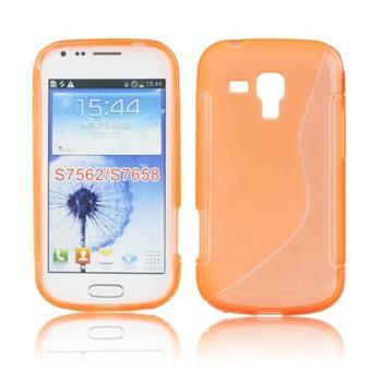 Pouzdro S-TYPE pro Samsung Galaxy Trend-S7560, Orange