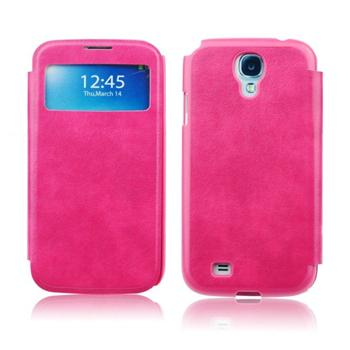 Pouzdro S-View pro Samsung Galaxy S5 - G900 a S5 Neo - G903, Pink