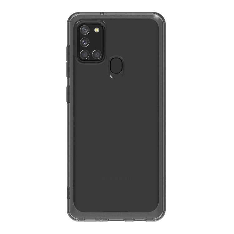 Pouzdro Samsung Clear Cover GP-FPA217K pro Samsung Galaxy A21s-A217F, Black
