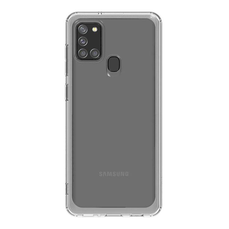 Pouzdro Samsung Clear Cover GP-FPA217K pro Samsung Galaxy A21s-A217F, Transparent