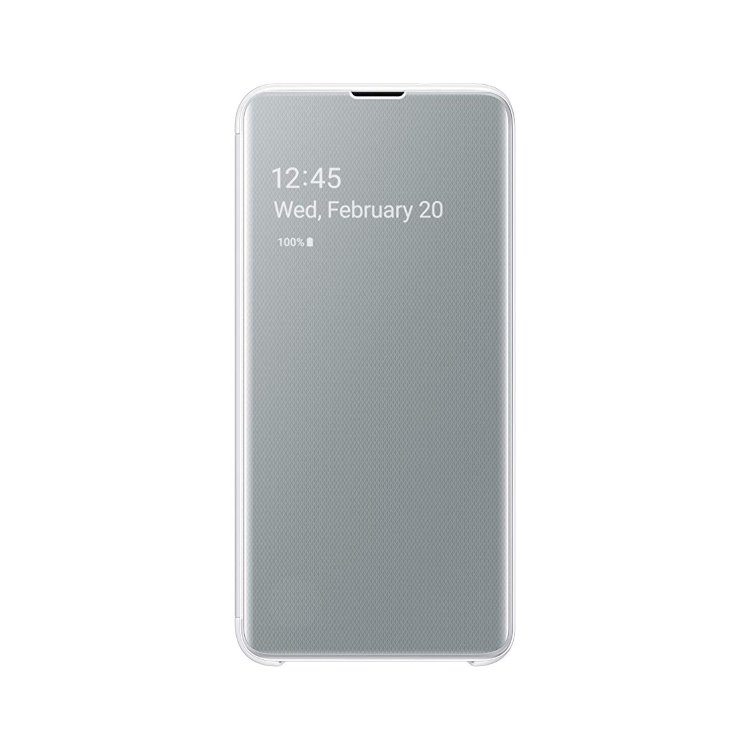 Pouzdro Samsung Clear View Cover EF-ZG970CWE pro Samsung Galaxy S10e-G970F, White