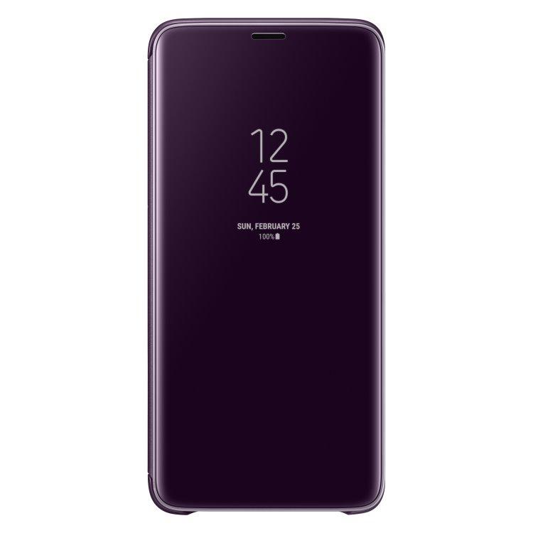Pouzdro Samsung Clear View Standing Cover EF-ZG965C pro Samsung Galaxy S9 Plus-G965F, Purple
