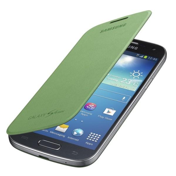 Puzdro Samsung EF-FI919BO pre Samsung Galaxy S4 Mini - i9195 a i9190 a S4 Mini VE - i9195i, Green