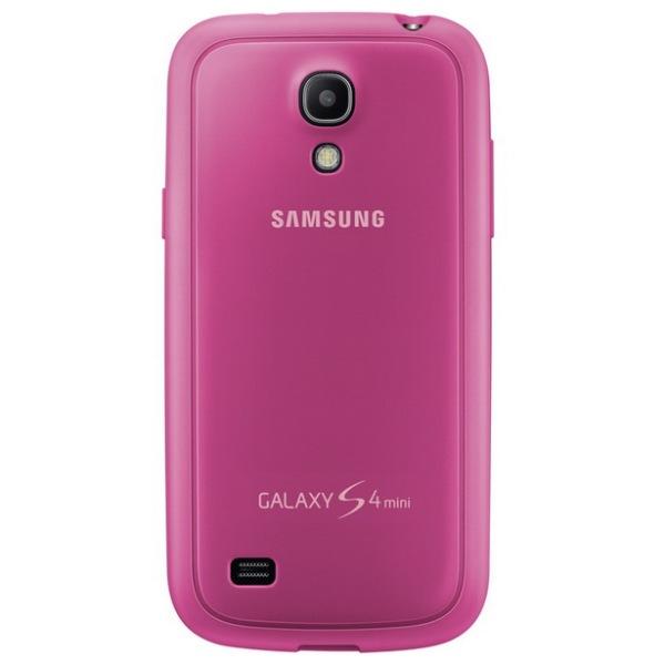 Puzdro Samsung EF-PI919BP pre Samsung Galaxy S4 Mini - i9195 a i9190 a S4 Mini VE - i9195i, Pink