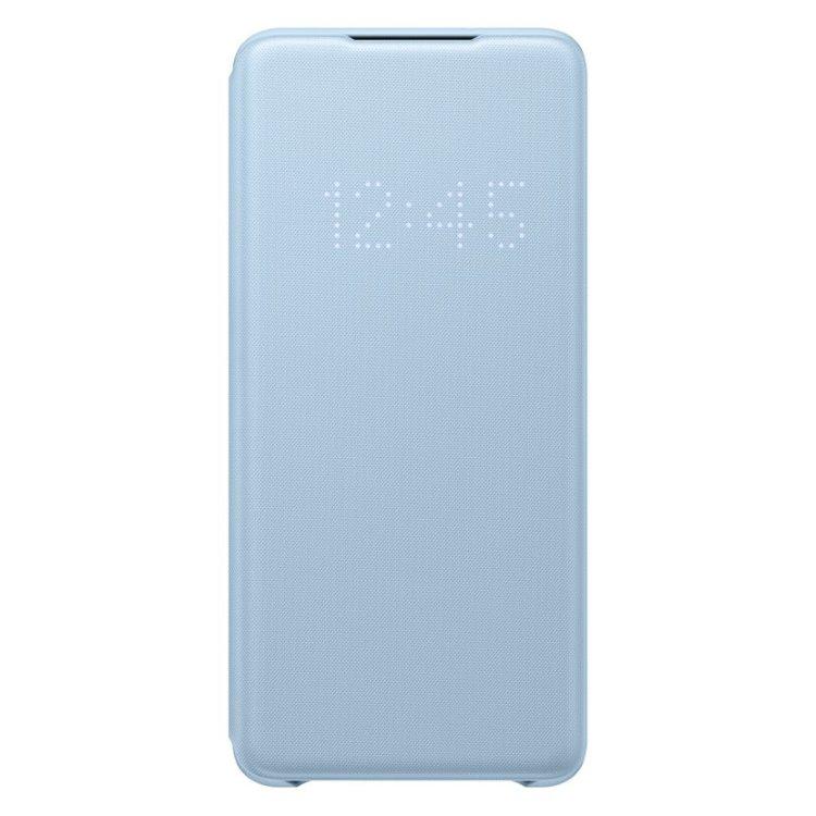 Pouzdro Samsung LED View Cover EF-NG985PLE pro Samsung Galaxy S20 Plus-G985F, Sky Blue