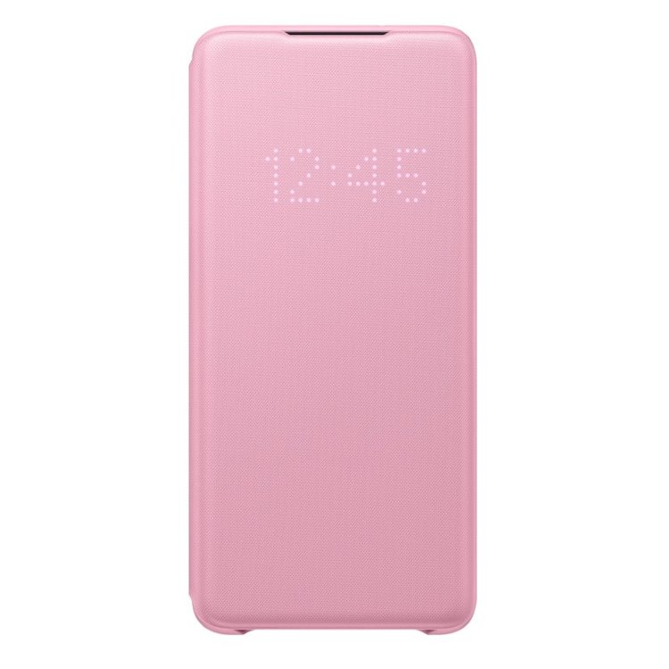 Pouzdro Samsung LED View Cover EF-NG985PPE pro Samsung Galaxy S20 Plus-G985F, Pink