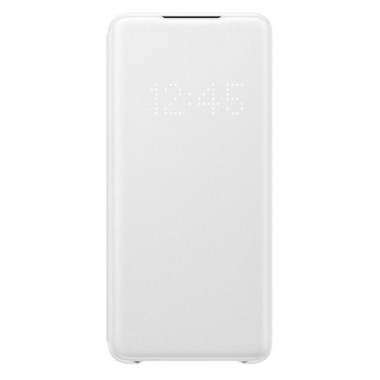 Pouzdro Samsung LED View Cover EF-NG985PWE pro Samsung Galaxy S20 Plus-G985F, White