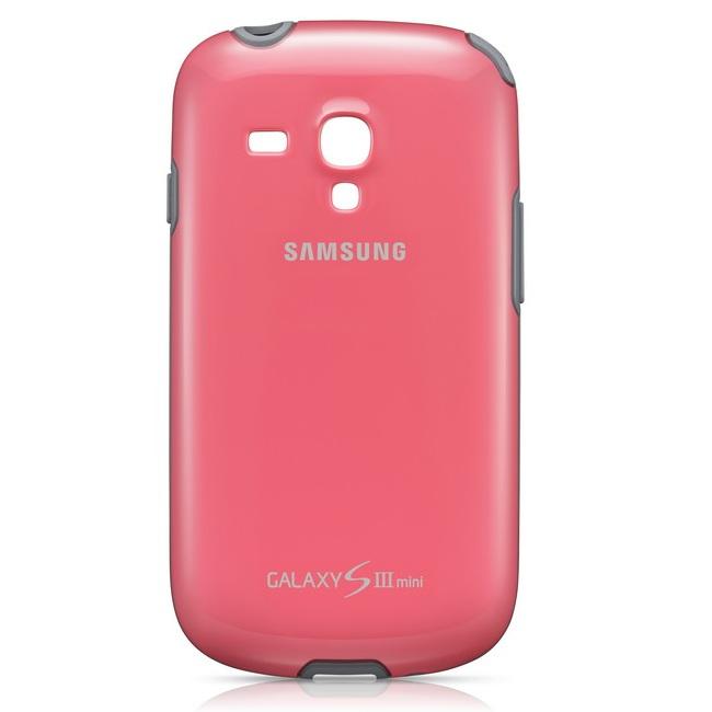 Pouzdro Samsung Protective EFC-1M7B pro Samsung Galaxy S3 Mini - i8190 a S3 Mini VE - i8200, Pink