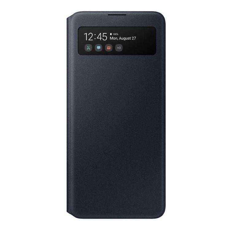Pouzdro Samsung S-View Wallet Cover EF-EA51PBE pro Samsung Galaxy A51-A515F, Black
