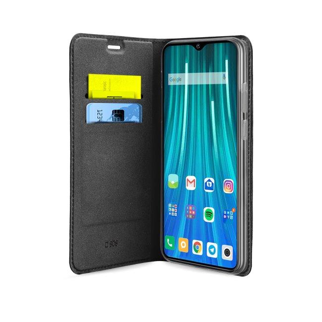 Pouzdro SBS Book Wallet Lite pro Xiaomi Redmi Note 9 Pro, černé