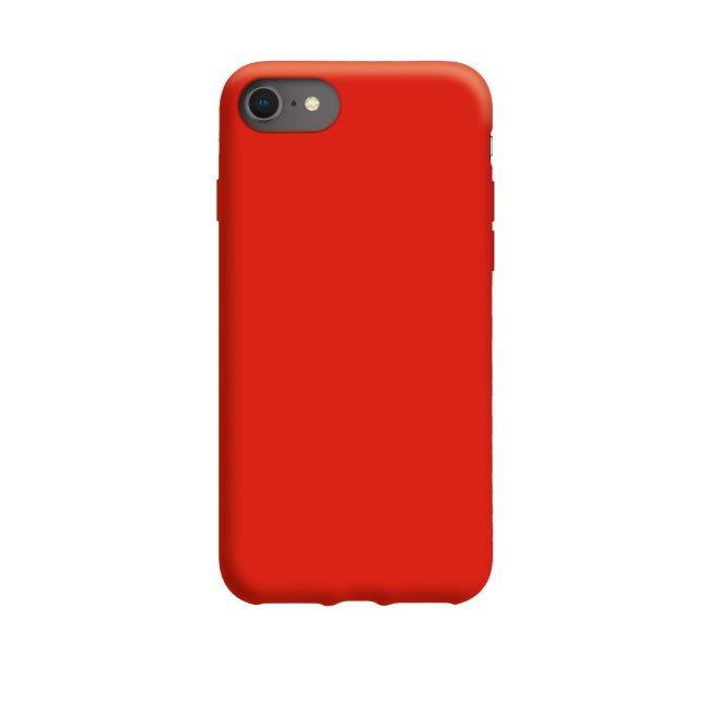 Pouzdro SBS Vanity Cover pro Apple iPhone SE/8/7, červené