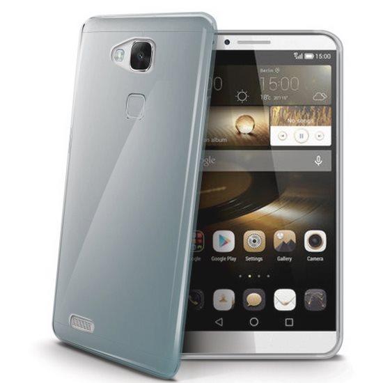 Pouzdro silikonové Celly Premium Gelskin pro Huawei Ascend Mate7, Transparent