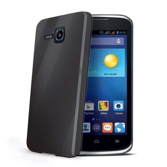 Pouzdro silikonové Celly Premium Gelskin pro Huawei Ascend Y520, Black