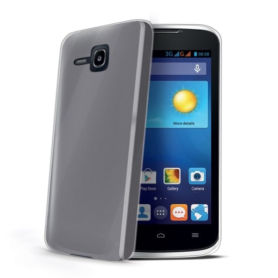 Pouzdro silikonové Celly Premium Gelskin pro Huawei Ascend Y520, Transparent