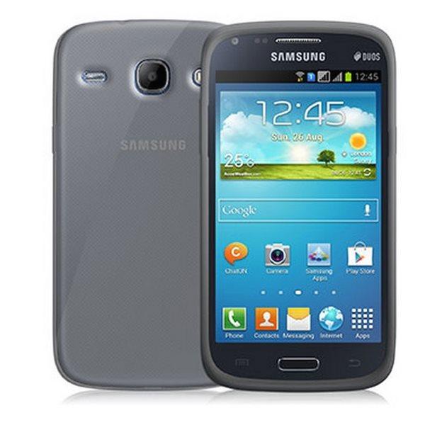 Pouzdro silikonové Celly Premium Gelskin pro Samsung Galaxy Core Duos - i8262, Transparent