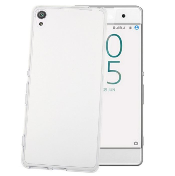 Pouzdro silikonové Celly Premium Gelskin pro Sony Xperia XA-F3111, Transparent