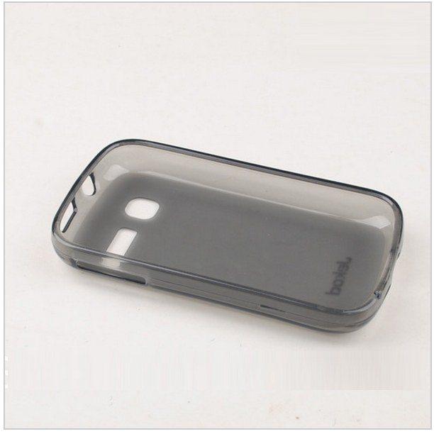 Pouzdro silikonové Jekod TPU pro Alcatel One Touch Pop C1-4016, Black Ochranná fólie na displej