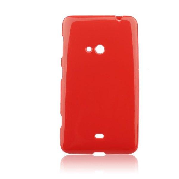 Pouzdro silikonové Jelly Case pro Nokia Lumia 625, Red